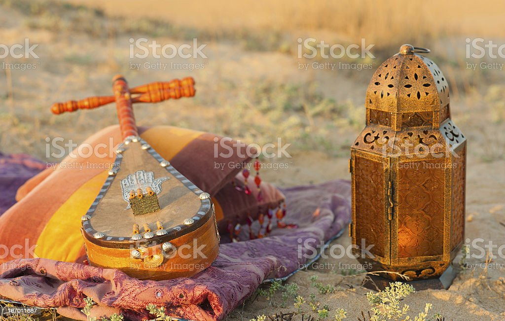 African instrument stock photo