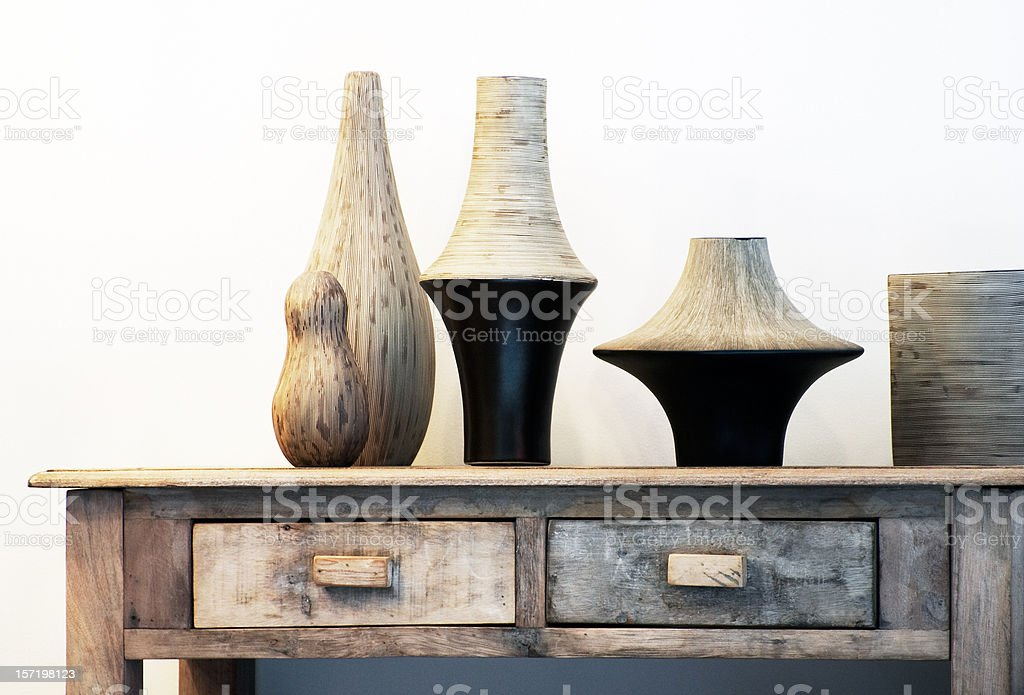 African Interior stock photo