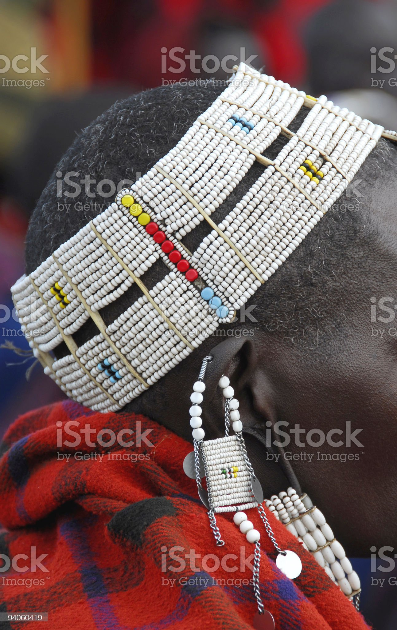 African jewelry royalty-free stock photo