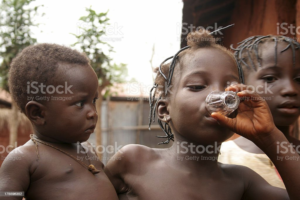 african kids royalty-free stock photo