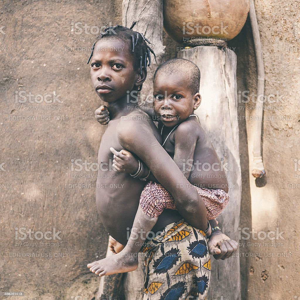 African kids. royalty-free stock photo
