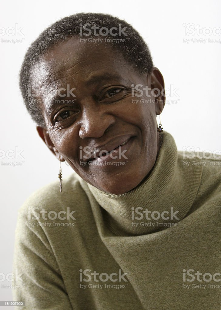 African Lady three royalty-free stock photo