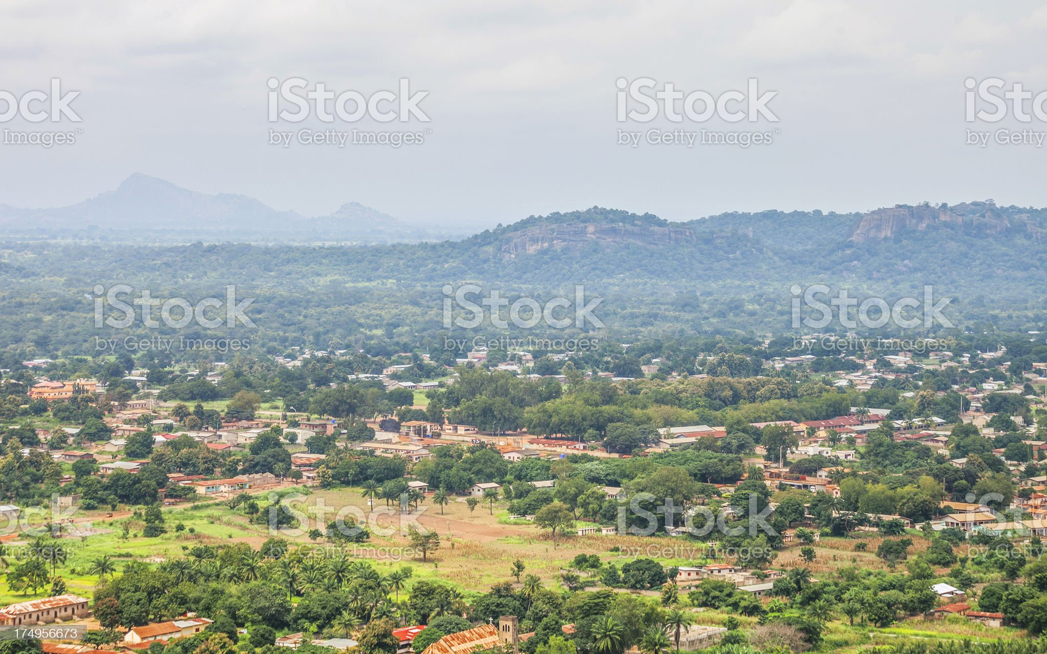 African landscape. royalty-free stock photo