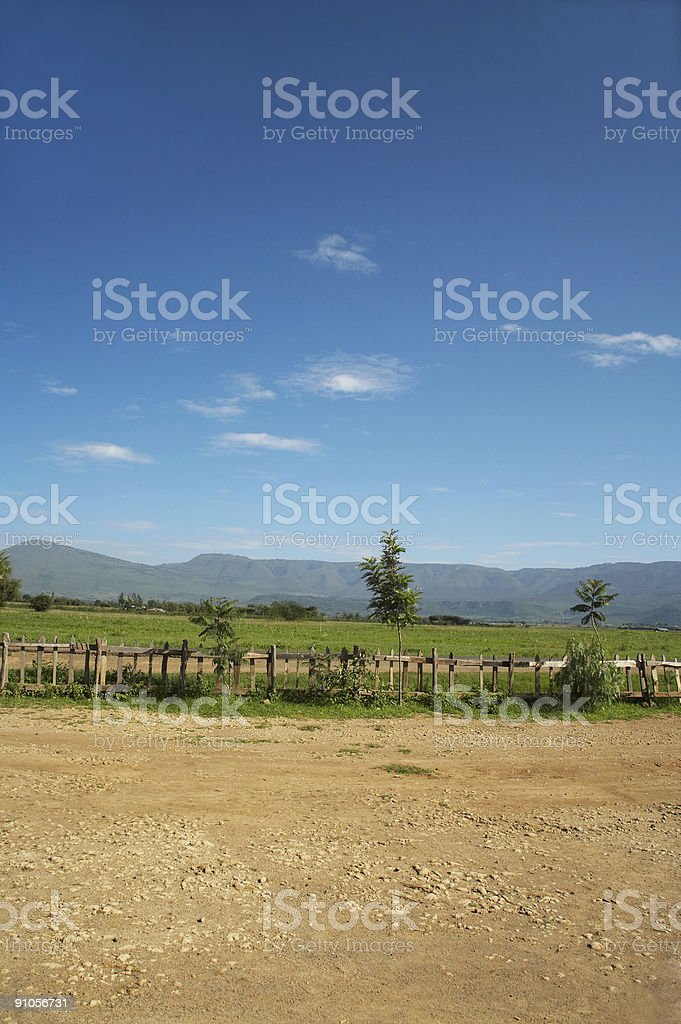 African landscape royalty-free stock photo