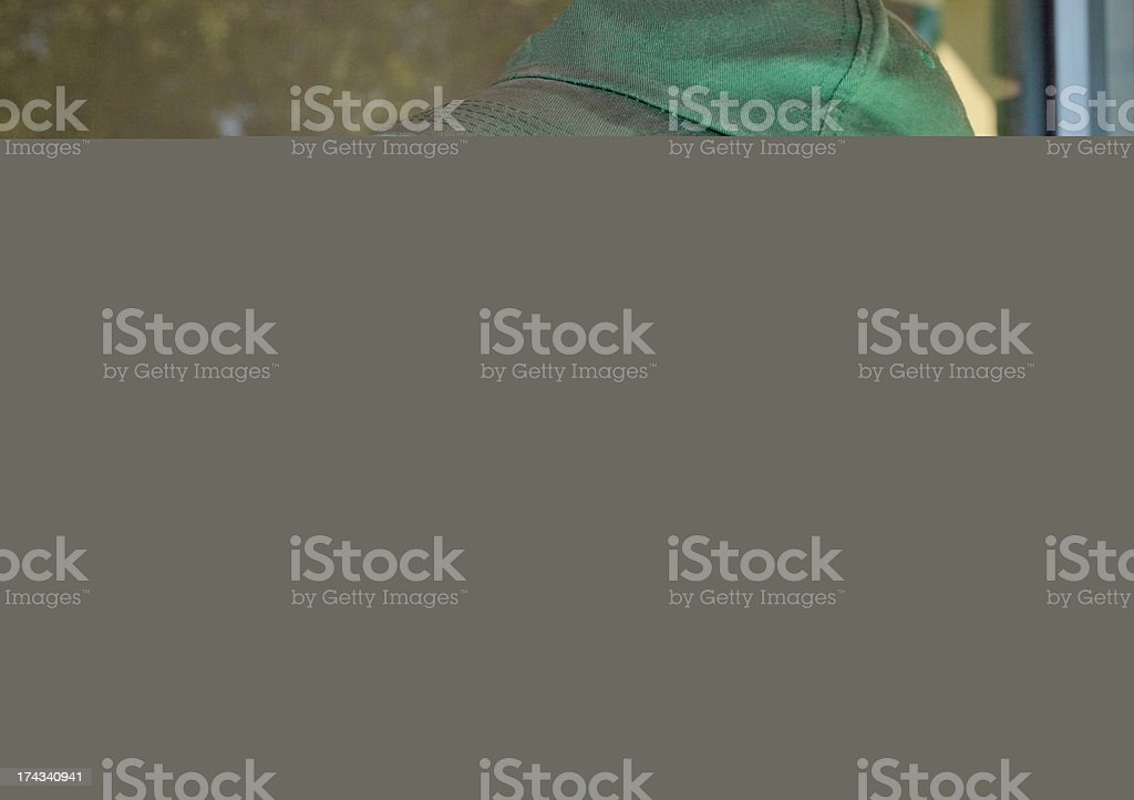 African Little Girl and Brother royalty-free stock photo