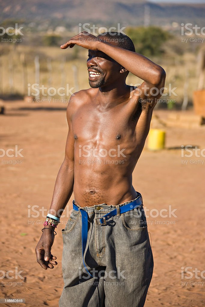 African man royalty-free stock photo