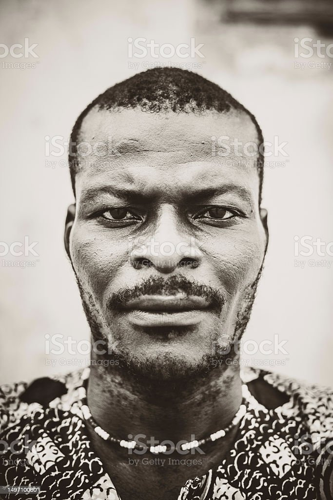 African man portrait. royalty-free stock photo