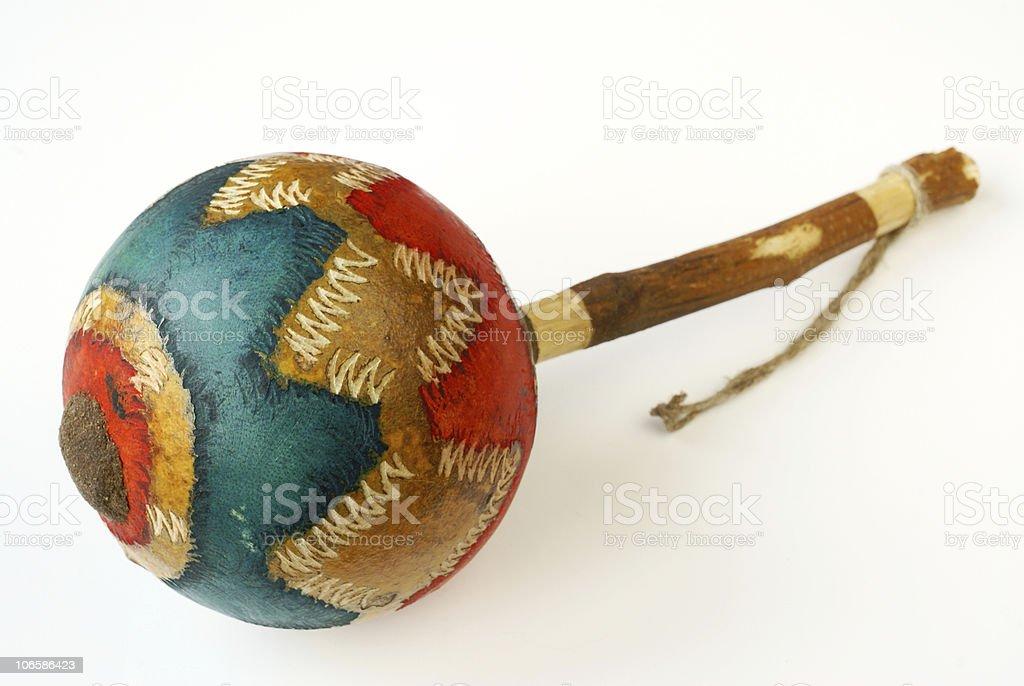 African maraca stock photo