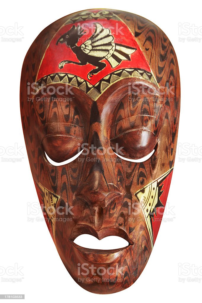 African mask royalty-free stock photo
