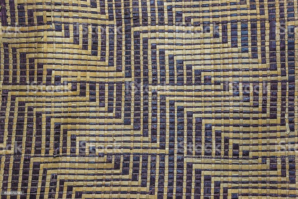African mat stock photo