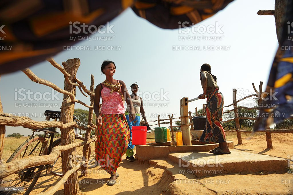 African Mother and Child stock photo