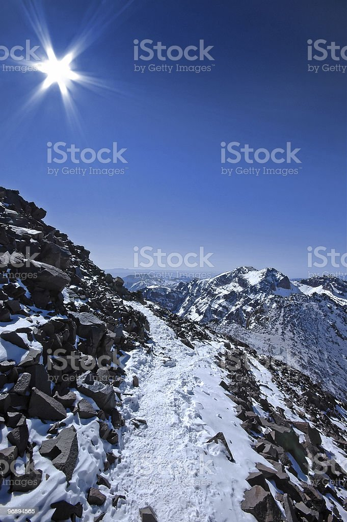 African mountains. royalty-free stock photo