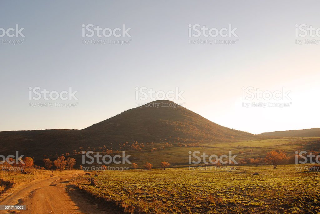 African Park in Summer stock photo