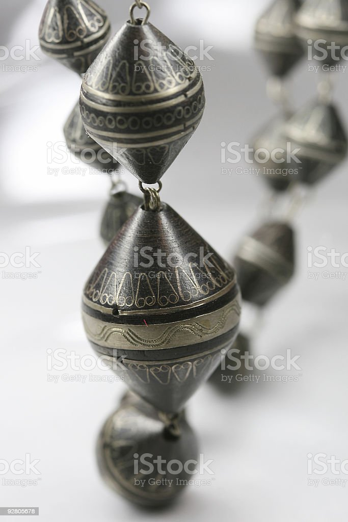 African Pearls stock photo