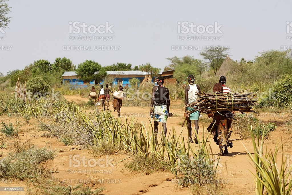African people royalty-free stock photo