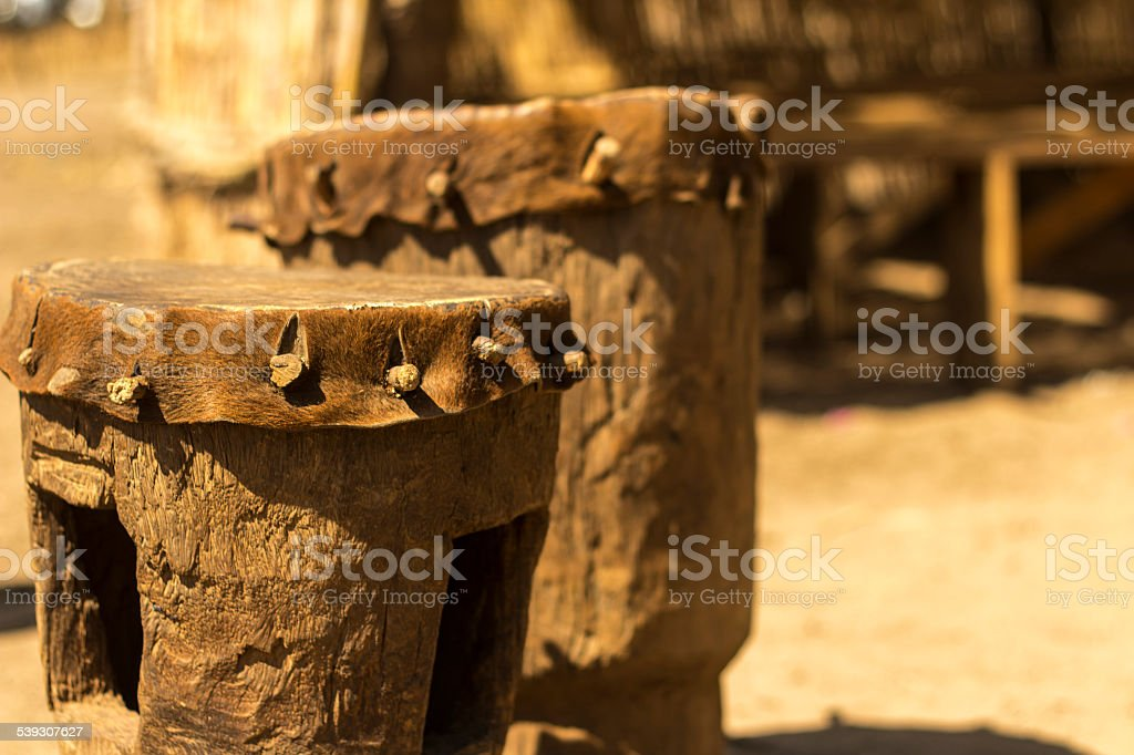 African Percussion stock photo