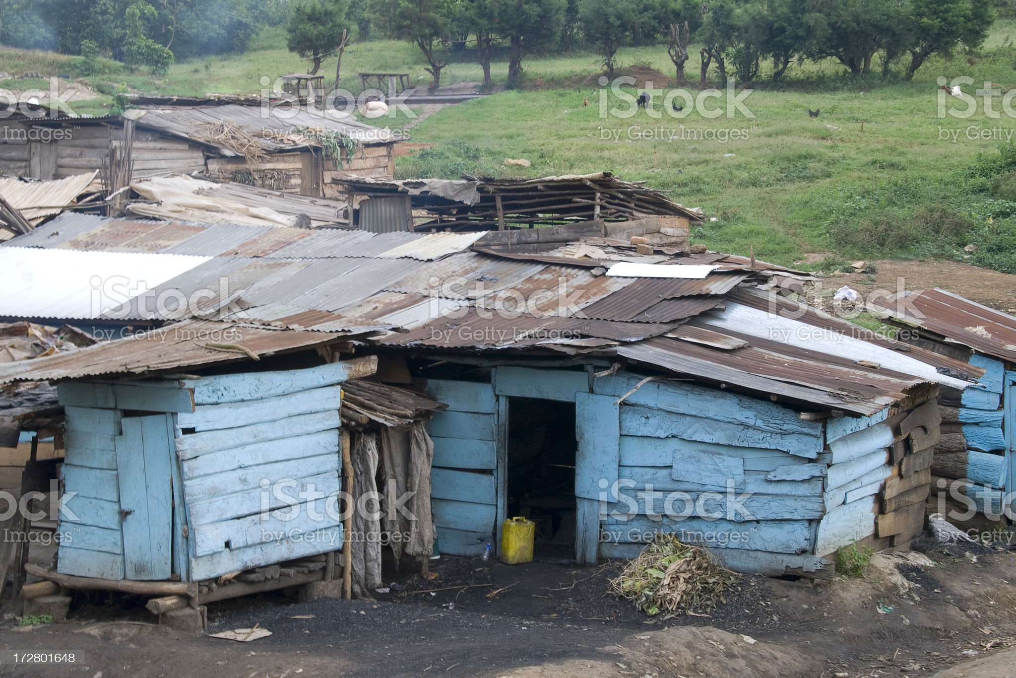 African poverty royalty-free stock photo