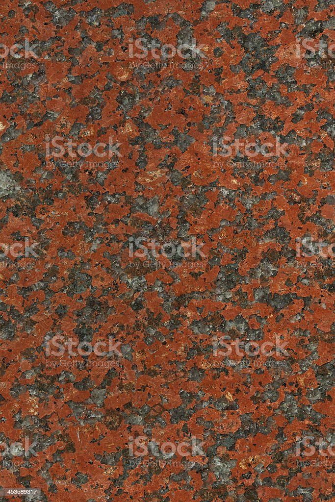 African Red Granite stock photo