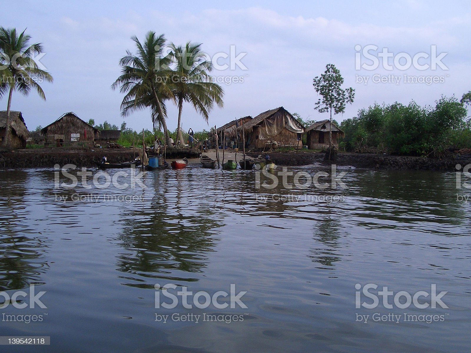 african river bank royalty-free stock photo