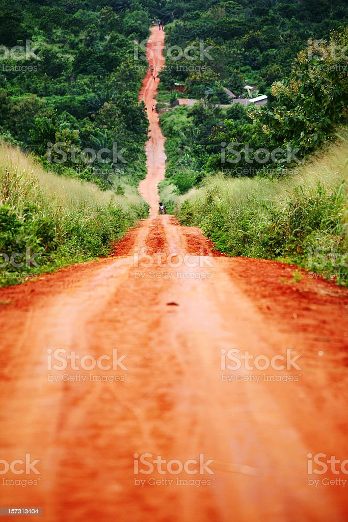 african road royalty-free stock photo