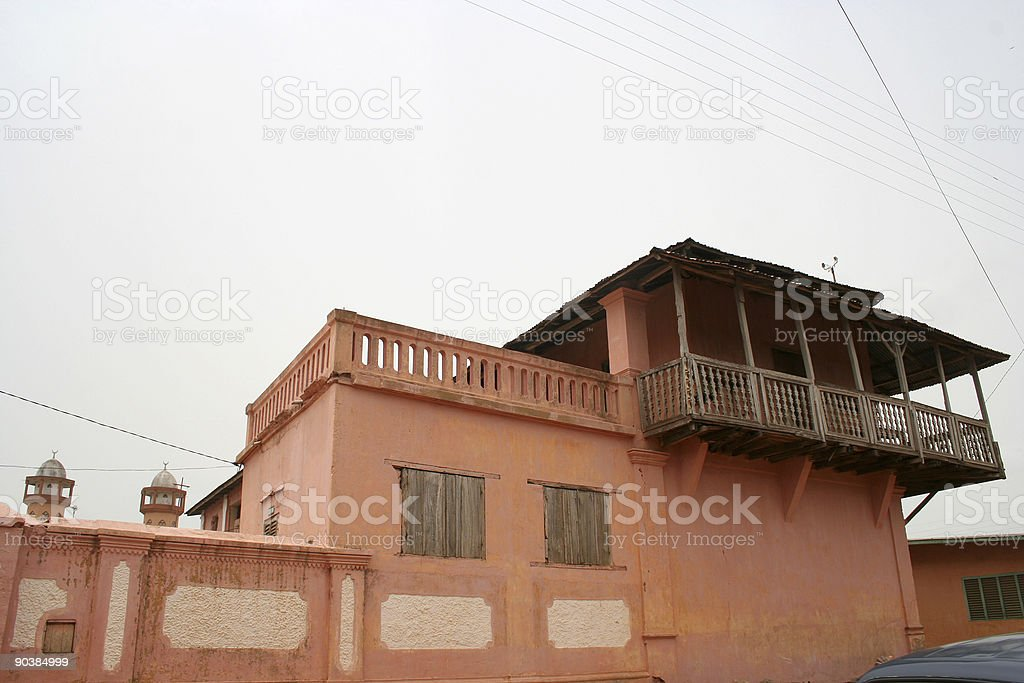 african schoolhouse royalty-free stock photo