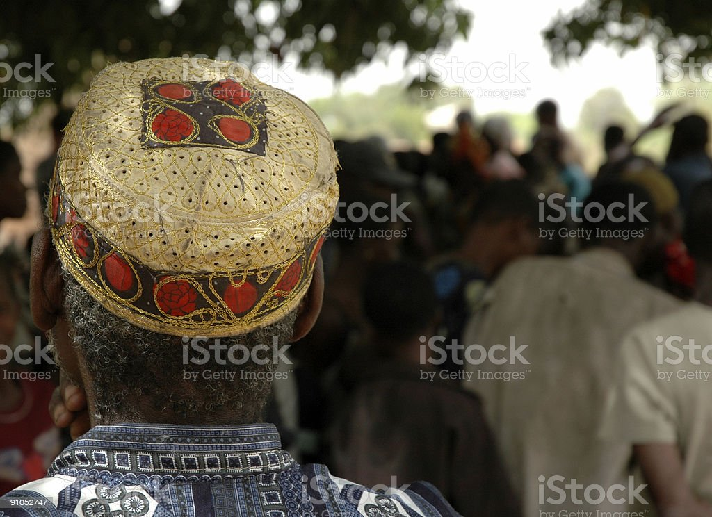African Senior Citizen royalty-free stock photo
