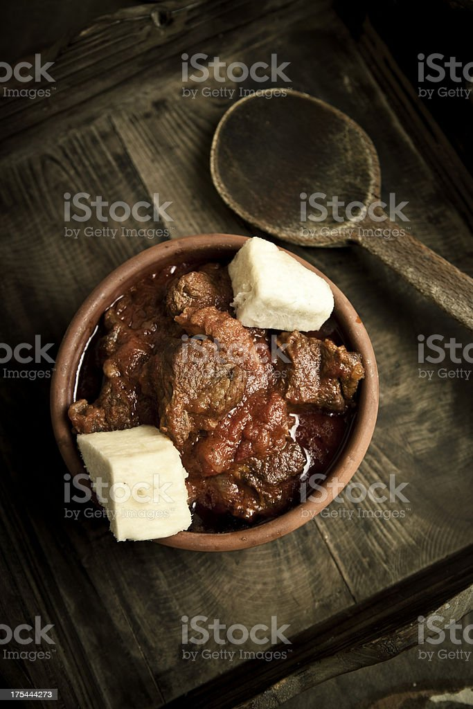 African stew royalty-free stock photo
