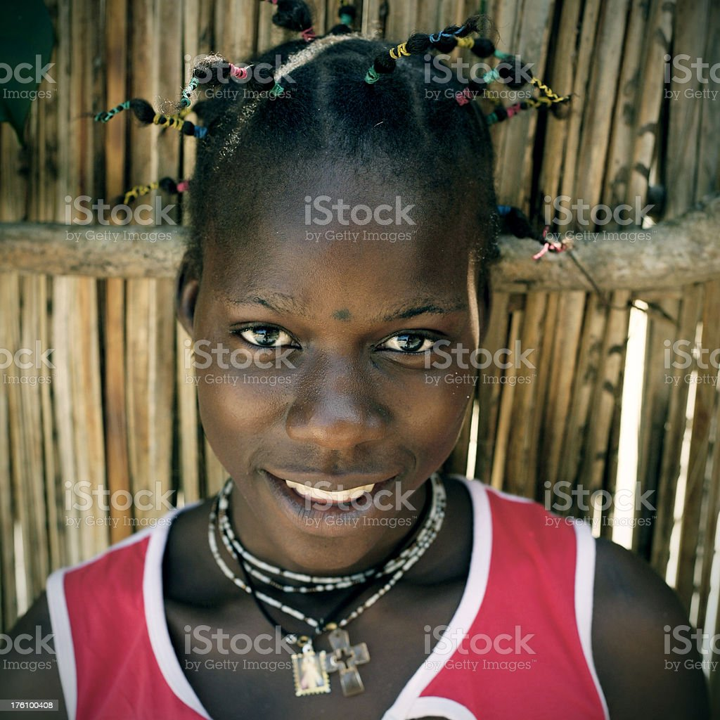 african teenager royalty-free stock photo