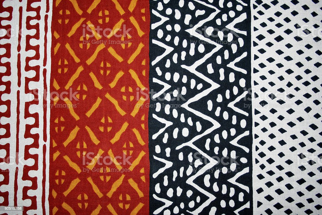 african textile stock photo
