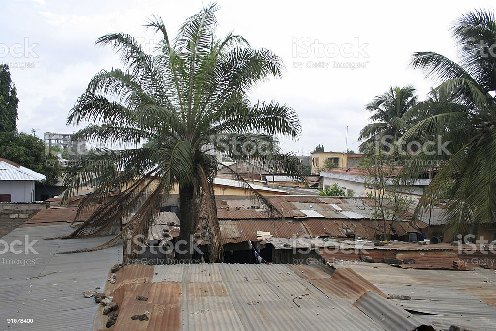 african town 3 stock photo