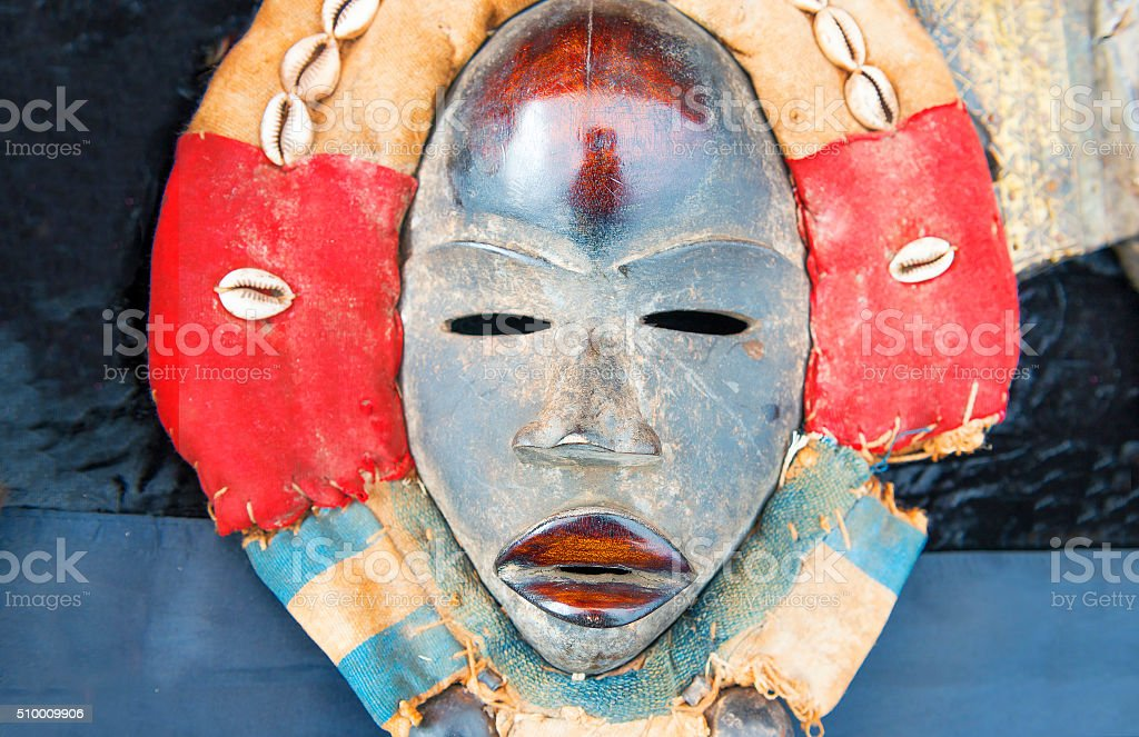 African tribal mask stock photo