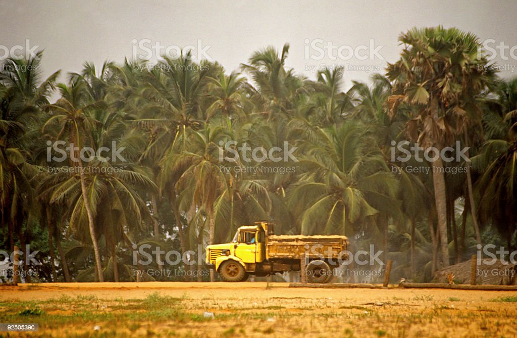 african truck stock photo