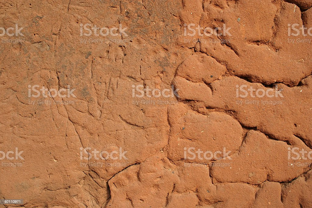 african wall texture royalty-free stock photo