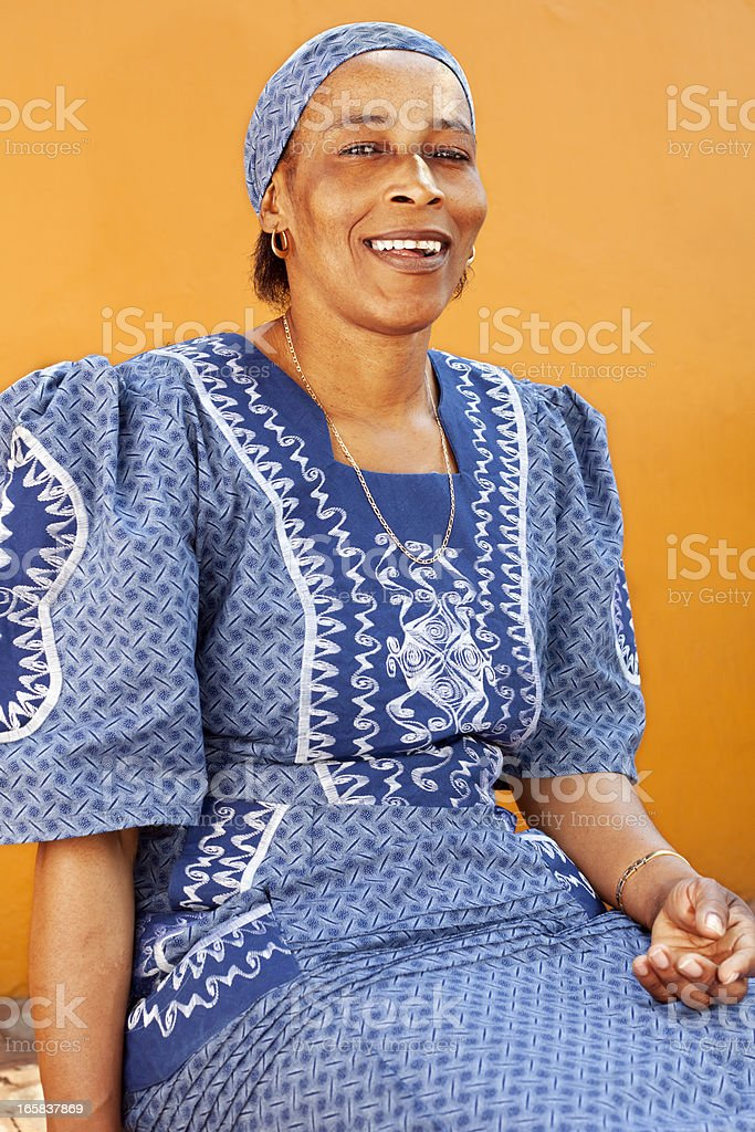 African woman from Venda stock photo