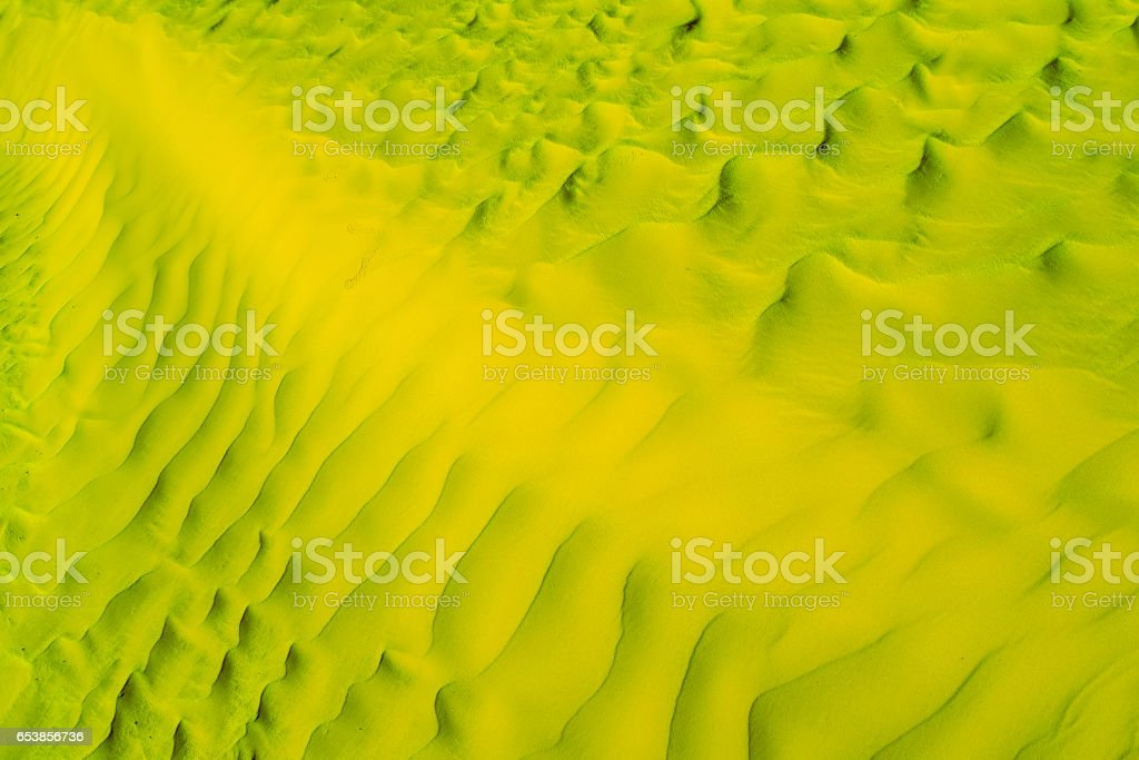 African yellow-green Desert Texture, Wallpaper and Background stock photo