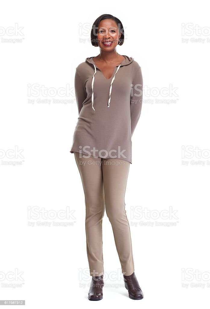 African-American woman. stock photo