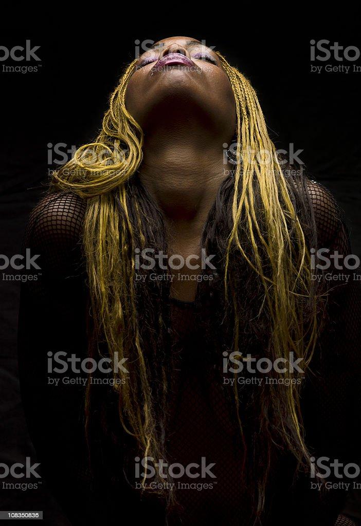Afro Caribbean Woman stock photo