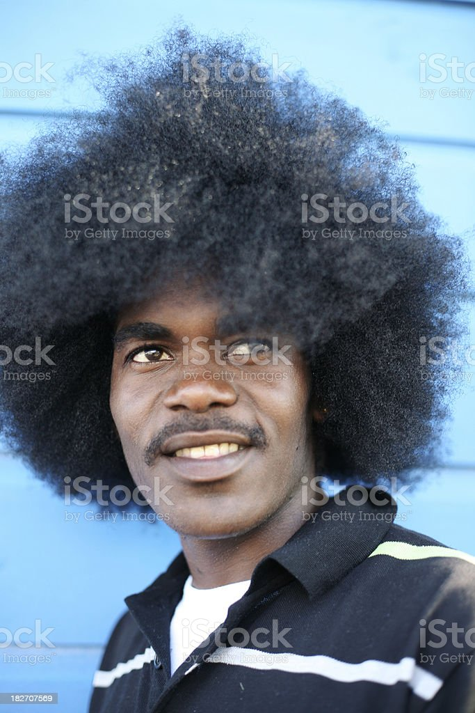 afro royalty-free stock photo