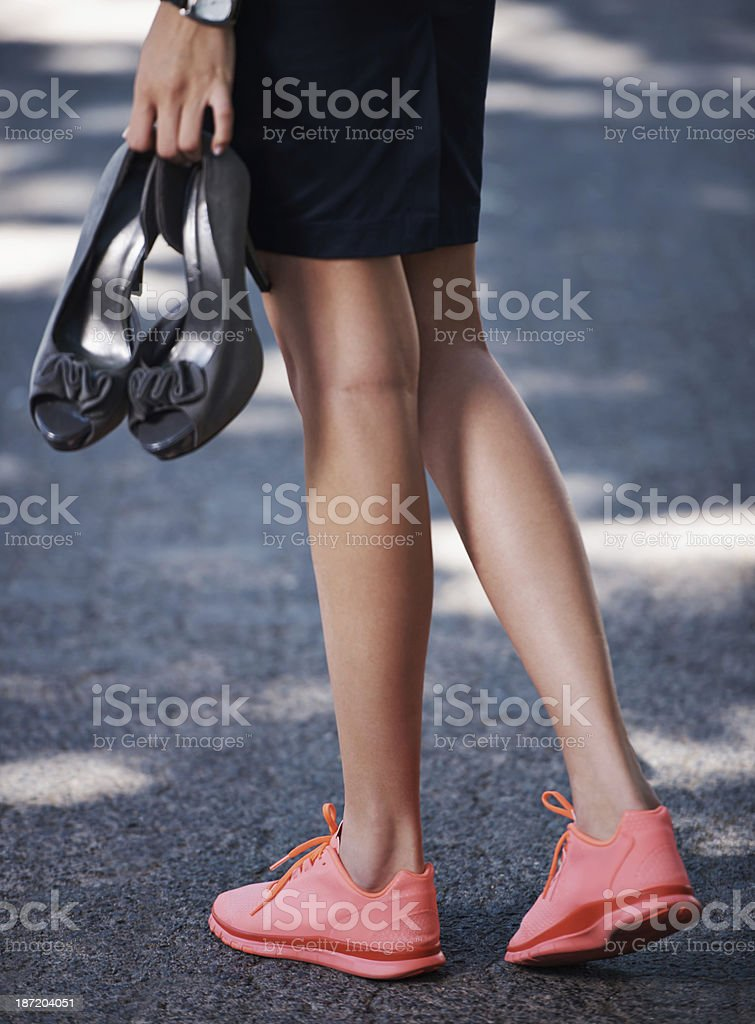 After a hard day's work... royalty-free stock photo