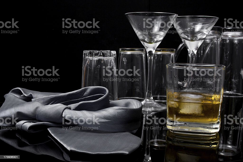 After a long day at work royalty-free stock photo