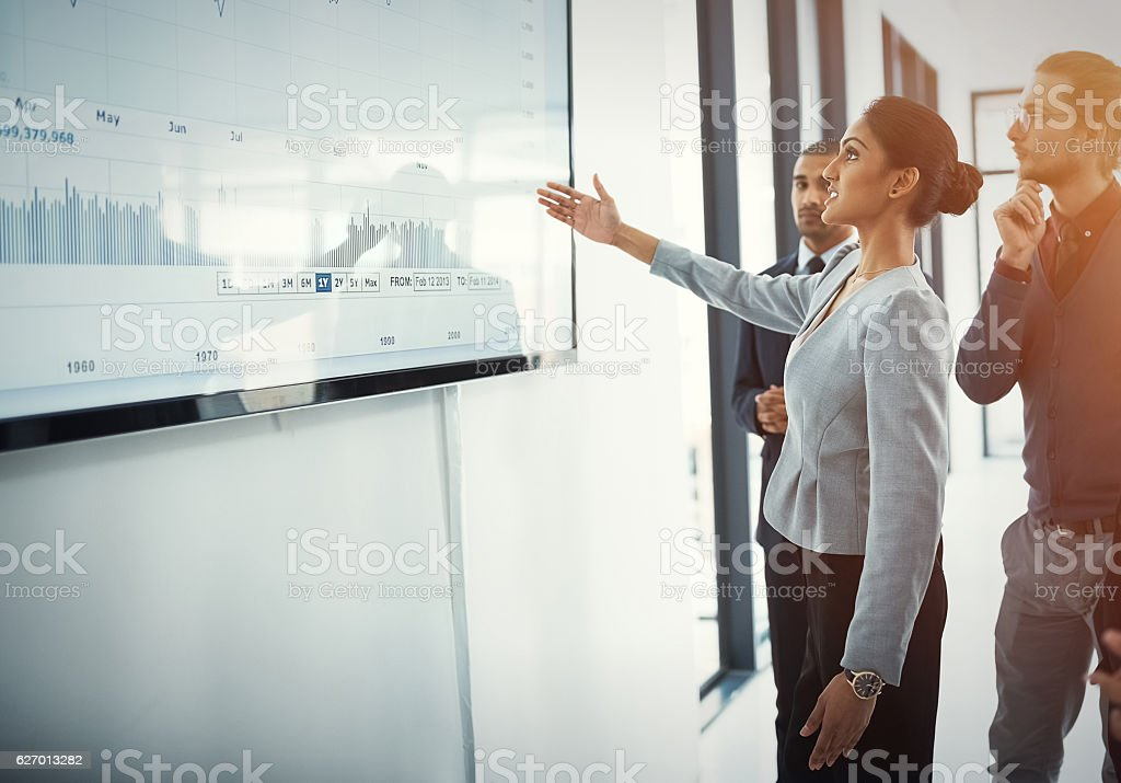 After ambition comes action stock photo
