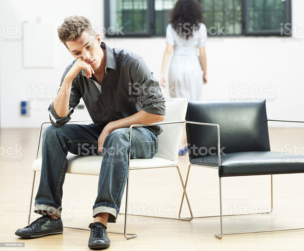 After an Argument royalty-free stock photo