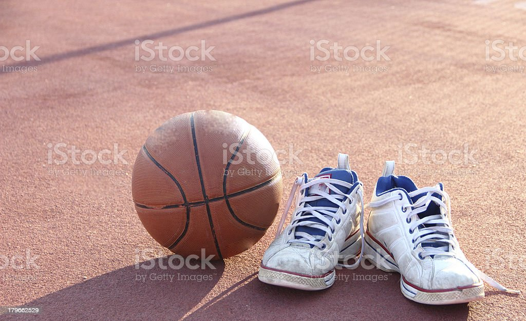After basketball royalty-free stock photo