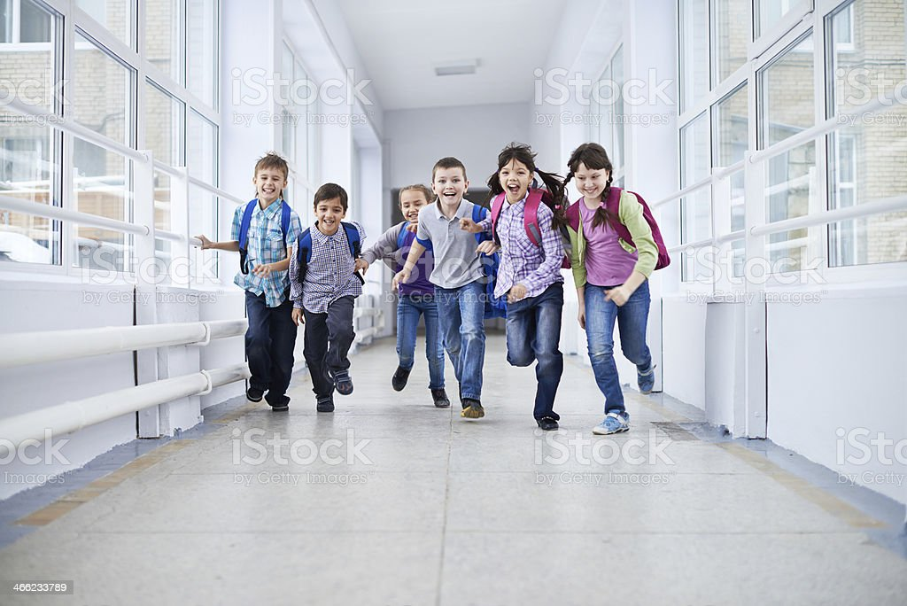 After classes happiness stock photo