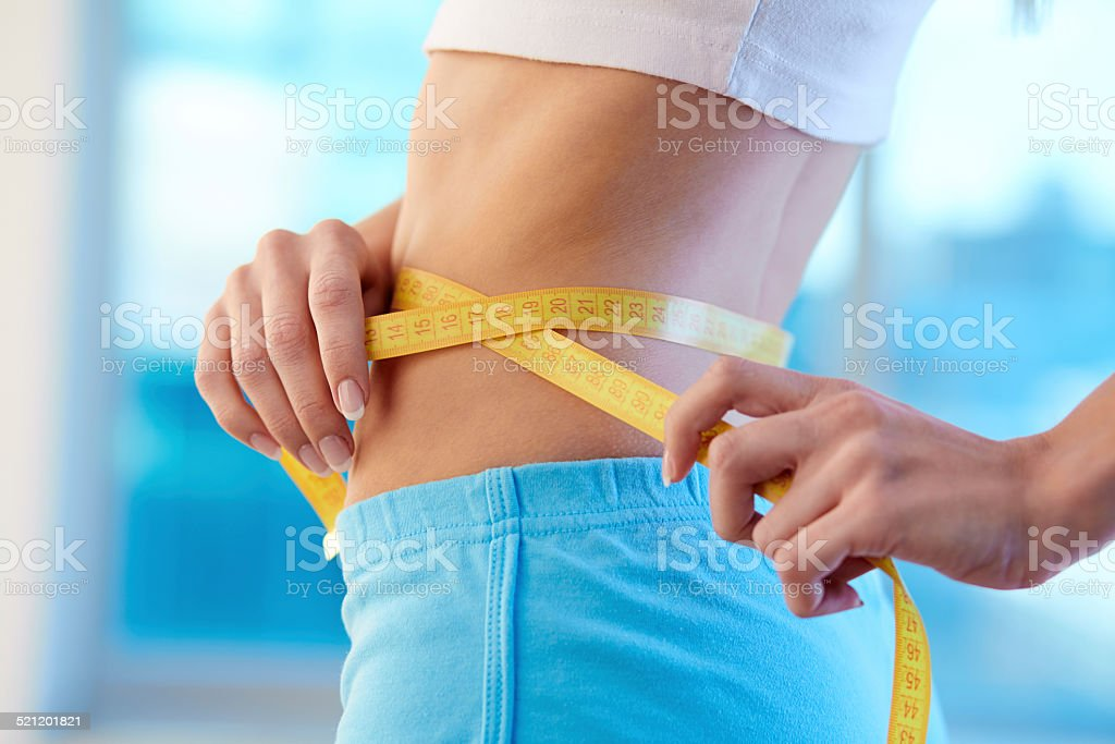 After diet stock photo