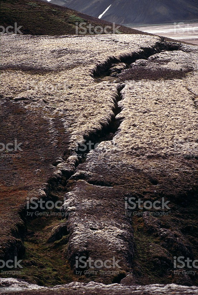after earthquake royalty-free stock photo