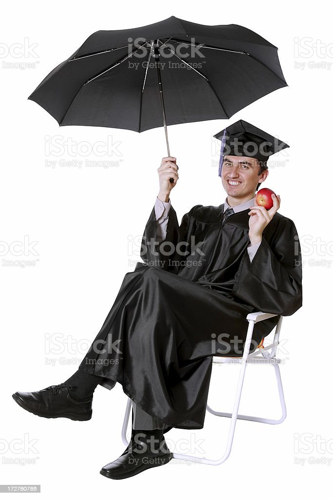 After Graduation royalty-free stock photo