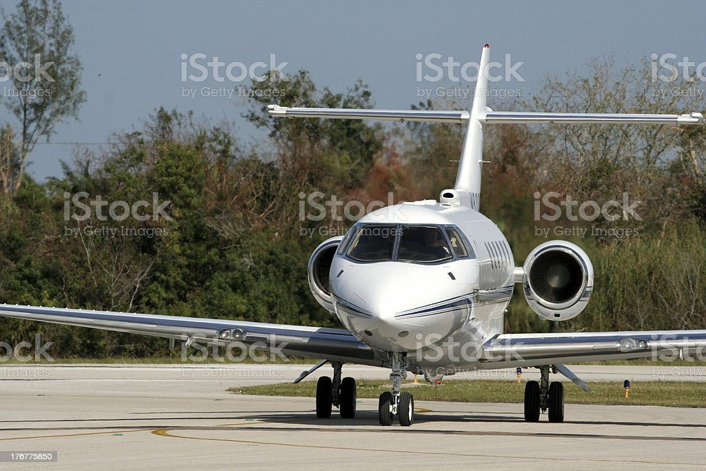 After Landing royalty-free stock photo