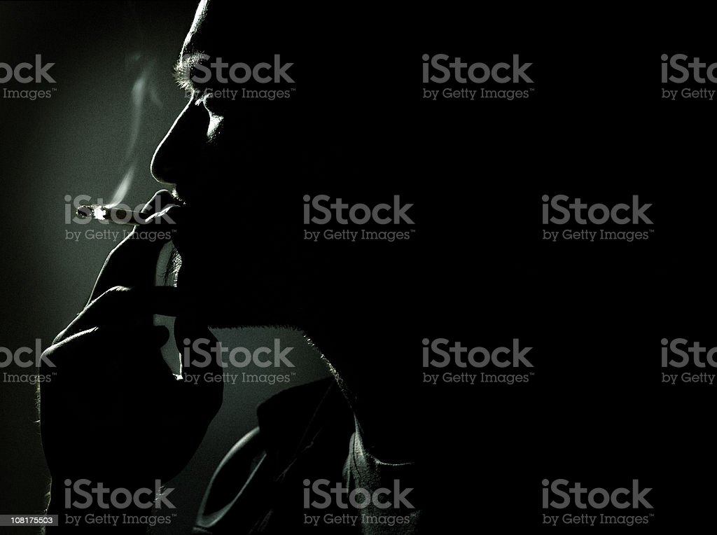 After midnight stock photo
