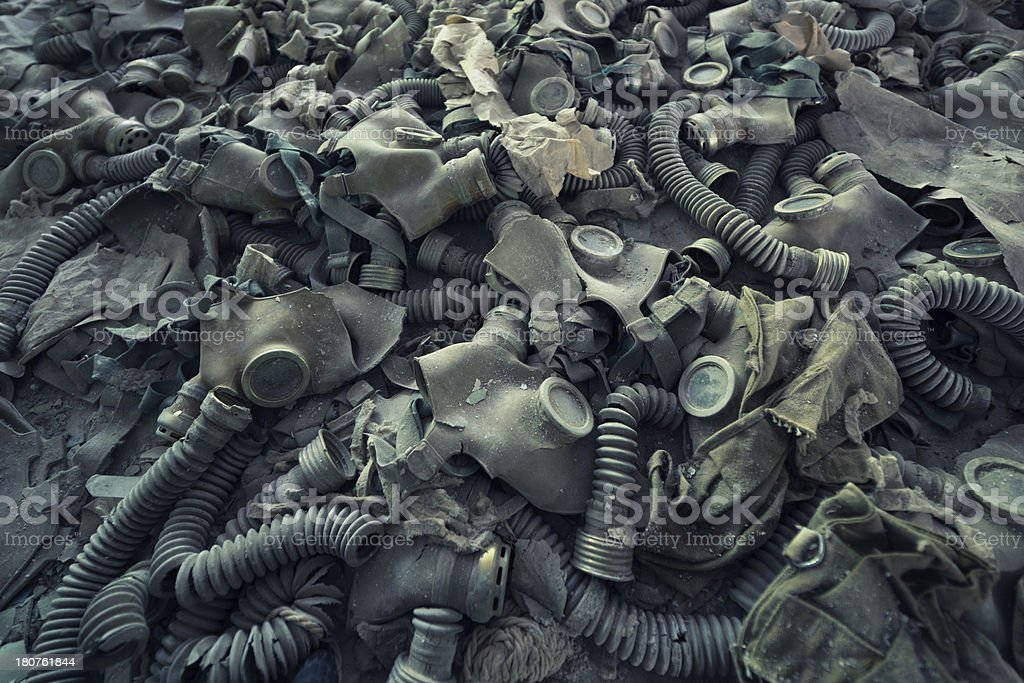 After Nuclear War stock photo
